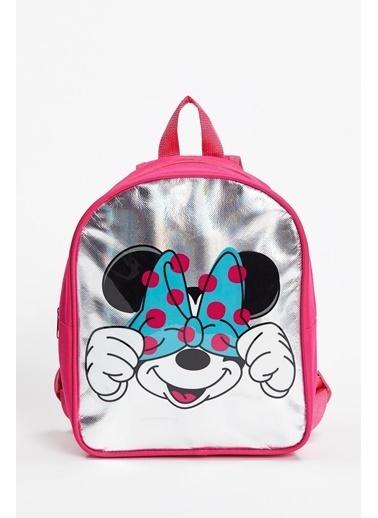 DeFacto Kız Çocuk Minnie Mouse Lisanslı Sırt Çantası Gri